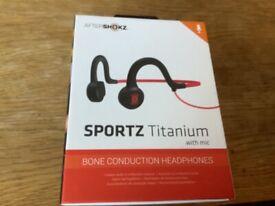 headphones, aftershockz bone conduction