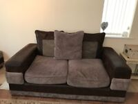 3 and 2 seater sofa from furniture village