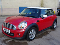 MINI HATCH COOPER 1.6 COOPER D 3d 112 BHP FULL YEAR MOT + 1 PREVIOUS KEEPER + SERVICE RECORD +