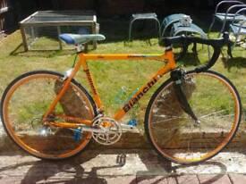 Bianchi racing bike