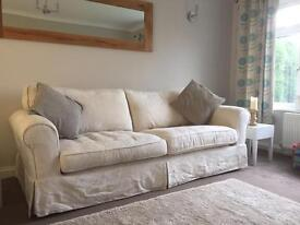 DFS St Ives Sofas - 4 Seater & 3 Seater