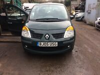 2005 Renault Modus Dynamique Dci 86 E4 5dr 1.5 Green BREAKING FOR SPARES