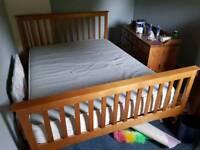 Broken Californian Queen bed with matresx
