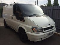 FORD TRANSIT 260 S.W.B PANEL VAN MOT AUGUST 2017