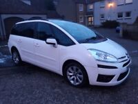 Citroen C4 Grand Picasso 2011 White Low mileage only 39800 miles Excellent condition