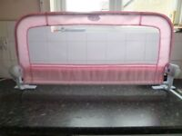 2 x Pink BedRail (Bed Guard)