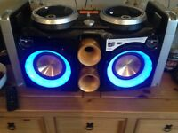 Philips dual dj dock hi-fi