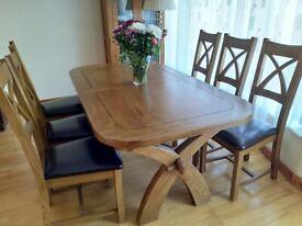1 years old Solid Oak furniture set