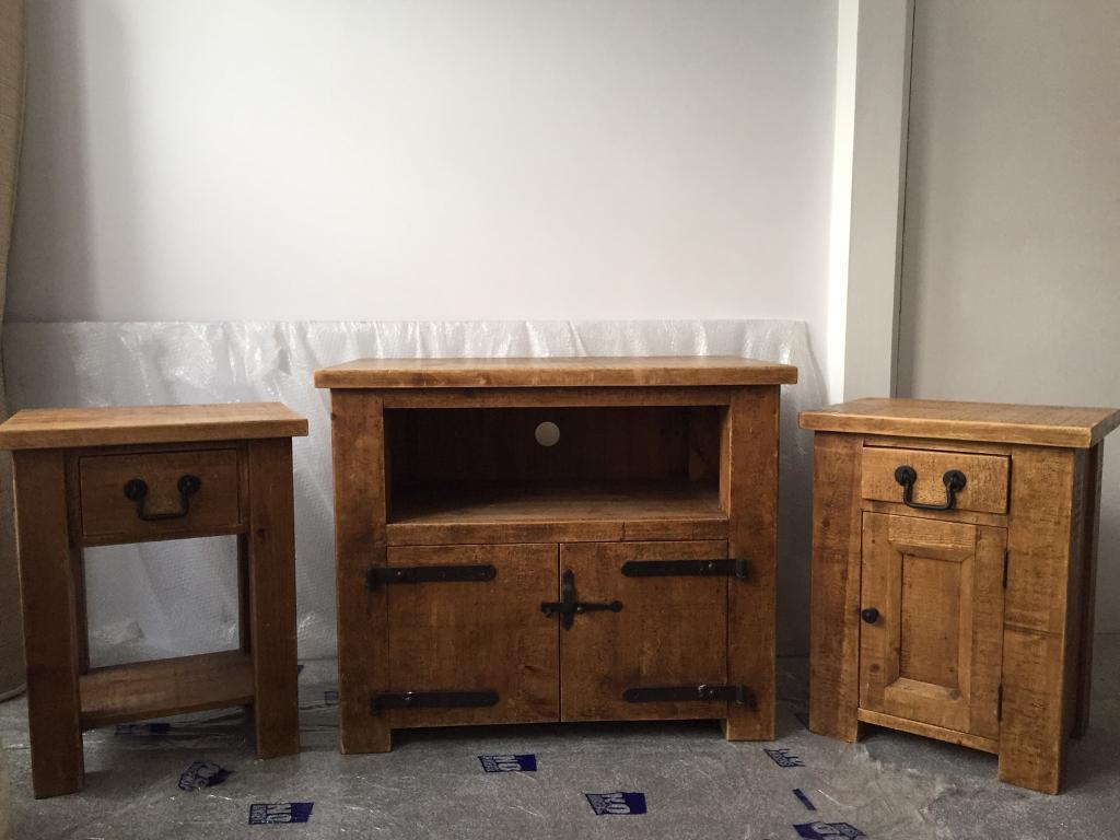 Rustic wooden lounge furniture for sale