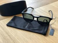 Barton Perreira Rainey Sunglasses - Matte Black