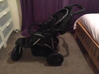 Mothercare Xtreme 3 wheel pushchair