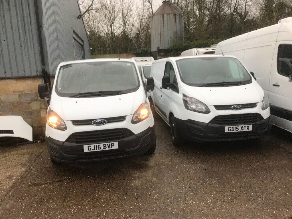 37499234f9 ford transit custom.2015.choice of 2 vans.low miles.ready for work
