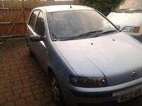 Trade or Swap. 2003 Fiat Punto, 1242cc, 67,800 miles, Motd to 20,04,17 (Bangor)