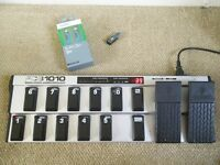Behringer FCB1010 Midi footcontroller pedal (with UnO chip) & as new Midi cable