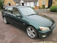 Lexus IS 200 Auto, W Reg, New Wheels and Tyres 2017, 1 Year's MOT, FSH, Owned 4 Years,