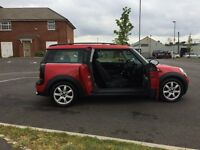 2010 Mini Clubman One 1.6 Petrol 6 Speed Manual Gearbox Gleaming Red 1 Previous Lady Owner 2 Keys