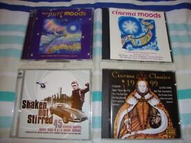 Film soundtrack CD's (15 in total). 11 film soundtrack CD's. 4 soundtrack collection CD's