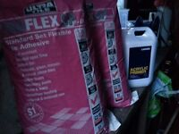 Tile Adhesive and Acrylic primer [FREE]