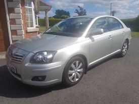 TOYOTA AVENSIS 1.8 VVTI COLOUR COLLECTION 2008