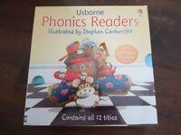 Children's Usborne phonics readers