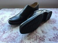 "Clarks Formal Black Leather shoes ""Brand New"" size 9.5"