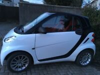 Smart Fortwo cdi coupe. Low mileage diesel model with glass roof.