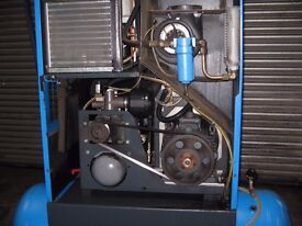 3 phase compressor with dryer