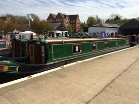 Narrowboat / Narrow Boat Share - at least 4 weeks a year in luxury narrowboat