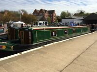 Narrowboat Share - at least 4 weeks a year in luxury narrowboat