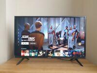 Hisense 32inch SMART TV with Full box