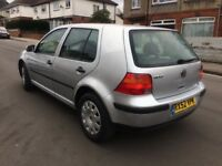 WV Golf 4 1,9 TDI reg;2002