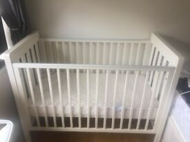Mamas & Papas Cot and Matress