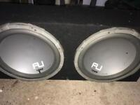 Fli sub with built in amp