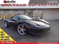 2012 Ferrari 458 ITALIA COUPE | ONE OWNER | CLEAN CARPROOF | SPE