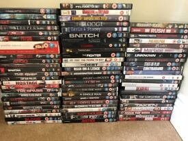 DVD film bundle - Adults - over 70 - some still in cellophane