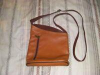 Mustard Leather Shoulder Bag