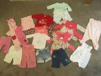 Baby girl clothes 3-6 months £ 5