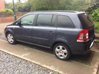 Vauxhall zafira low mileage excellent condition 7 seater great family car