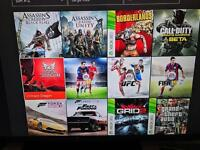 Xbox One 12 games 1 controller