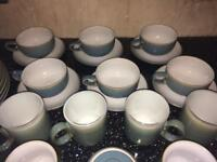 Huge Denby set modern never used.