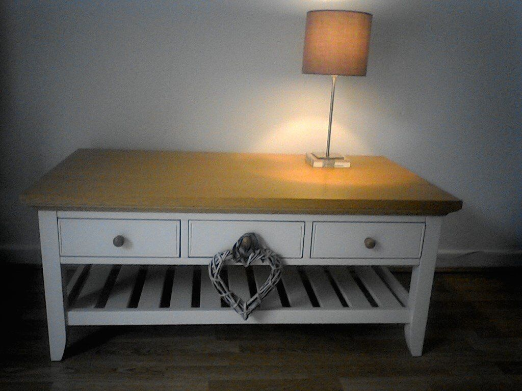 Laura Ashley Coffee Table From The Oakham Range With 3 Drawers Magazine Rack In Carbis Bay Cornwall Gumtree
