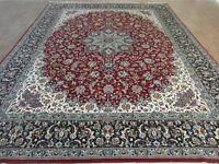 "Persian Carpet Rug. Size xxxl (9' 8"" x 12' 8"") 298cm x 390cm"