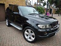 BMW X5 2005 DIESEL AUTOMATIC, SPORT MODEL PAN-ROOF, SAT-NAV, REAR SCREENS/DVD, NEW MOT, TINTS, LOOK