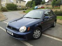 Subaru Impreza 1.6 TS 5dr /LOTS OF HISTORY/DRIVES EXCELLENT/BARGAIN
