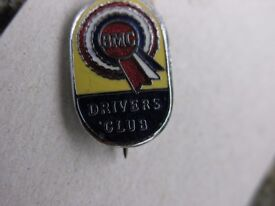 BMC Driver Club Enamealled Pin Badge Weymouth