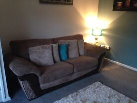 Large Sofa and Chair - no tears, marks or stains, perfect condition