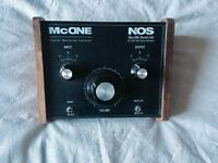 📦 STUDIO CLEAROUT 📦 New Old Sound McONE Rotary Control Passive Monitor Controller