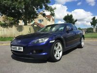 2005 MAZDA RX-8 END JUNE 17 MOT NO ADVISORIES STUNNING CAR