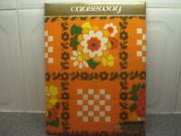 Causeway 1 pair Linen Cotton Union Tea Towels (New factory sealed)