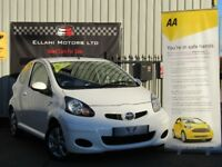 Toyota Aygo 1.0 VVT-i GO 3dr, Satnav+Parking Aid + Bluetooth